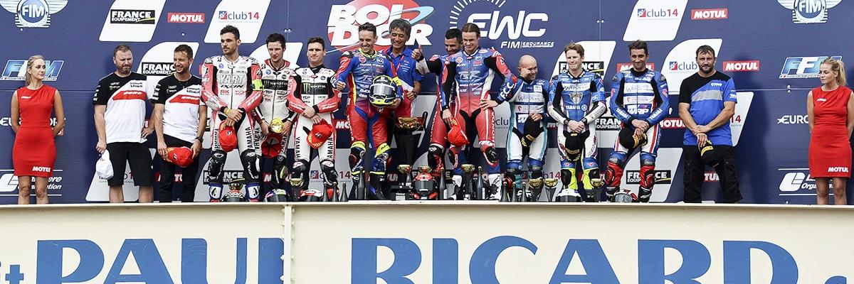 La Honda n°1 du F.C.C TSR Honda s'impose au Bol d'Or